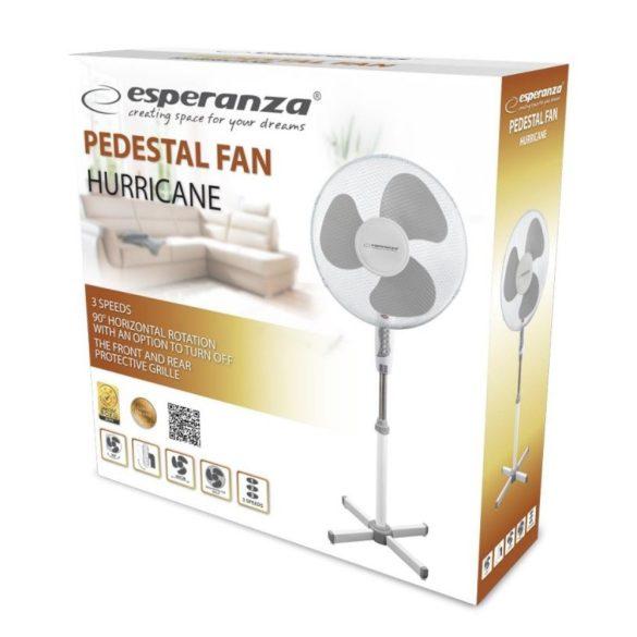 Esperanza Hurricane EHF001WE álló ventilátor fehér-szürke
