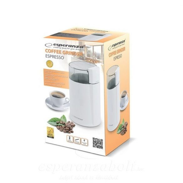 ESPERANZA ESPRESSO EKC001W fehér Elektromos kávédaráló 160W