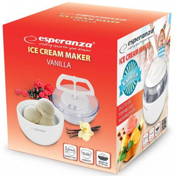Esperanza EKI001 Vanilla fagylaltkészítő - fehér