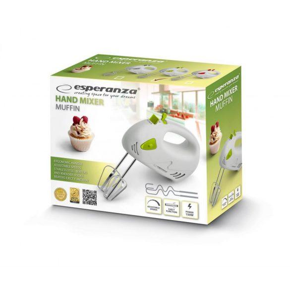 Esperanza Kézi mixer MUFFIN EKM007G fehér-zöld