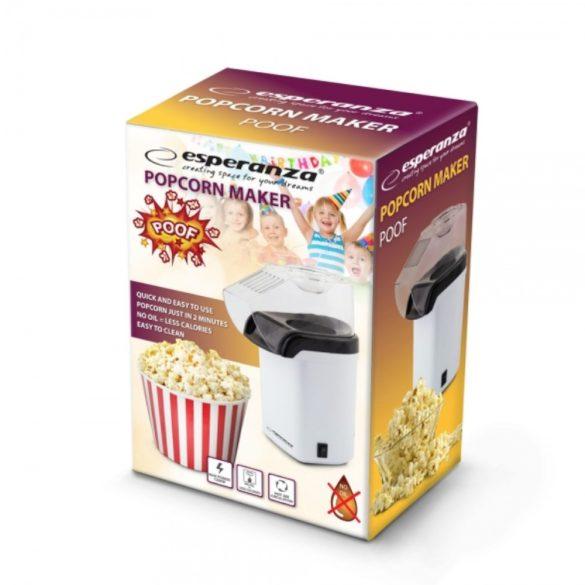 Esperanza Poof EKP005W Popcorn készítő gép