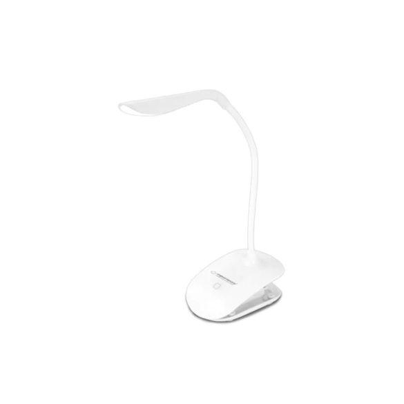 Esperanza LED asztali lámpa DENEB Fehér