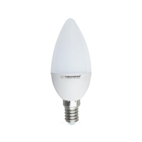Esperanza ELL146 E14 6W 580lm 3000K fehér LED