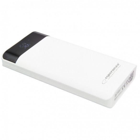 Esperanza EMP120W Photon Power Bank 17400mAh fehér