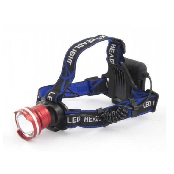 Esperanza PROCYON EOT001 5W LED 150m fejlámpa fekete-Piros