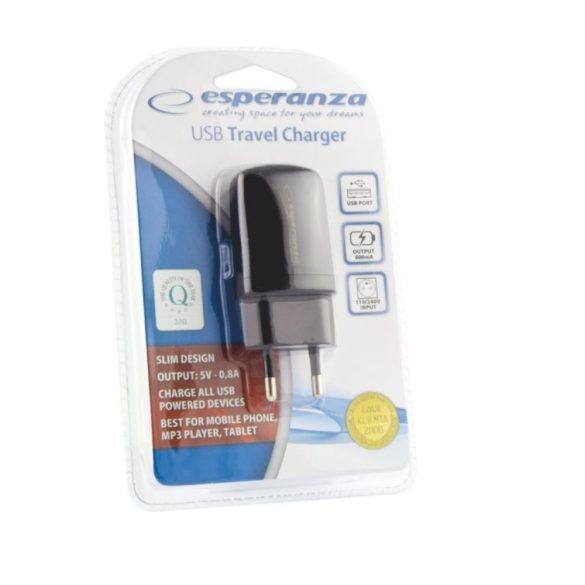 Esperanza univerzális utazó USB töltő EZ113
