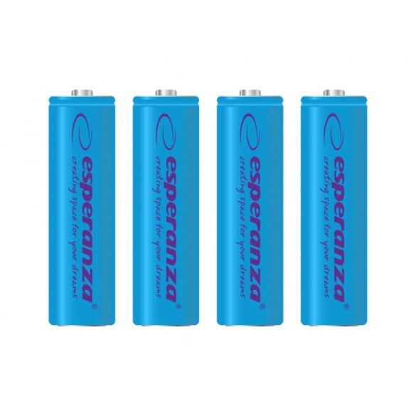 Esperanza EZA104B NI-MH AA 2000MAH 4 db Akkumulátor