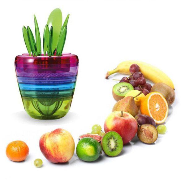 Multifunkciós gyümölcsvágó és szeletelő