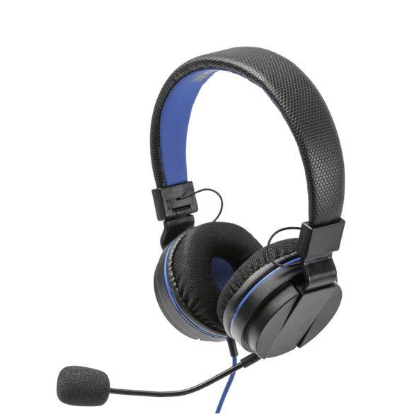 Snakebyte Head:Set 4 Pro fejhallgató 3.5 mm fekete, kék
