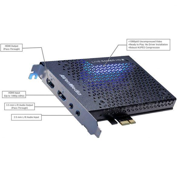 AVerMedia Live Gamer HD 2 GC570 PCI-E HDMI FHD Video Grabber (61GC5700A0AB)