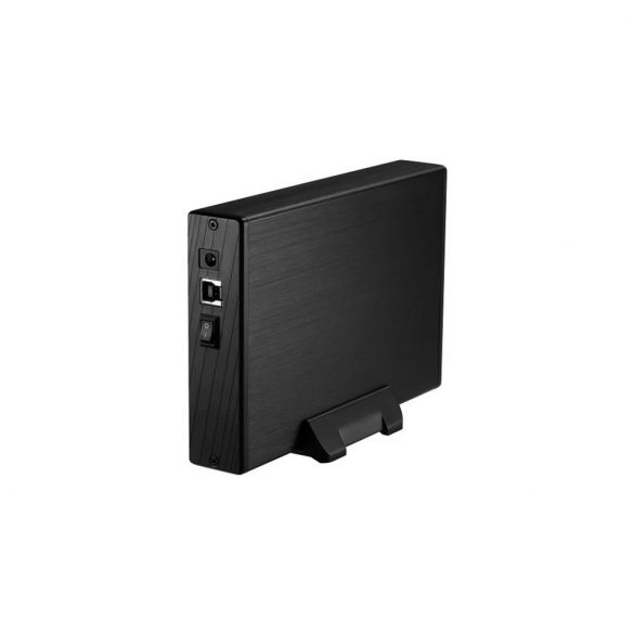 """Kolink HDSUB3U3 USB3 fekete külső ház 3.5"""" SATA merevlemezhez"""
