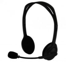 Silverline HS-11V mikrofonos fejhallgató