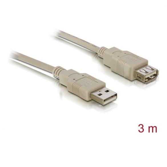 Delock 82240 USB 2.0 A/A hosszabbító kábel