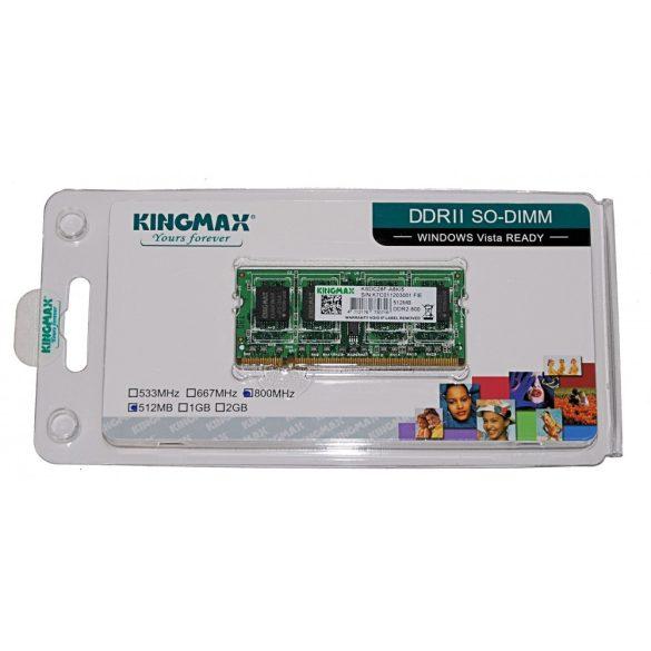 Kingmax 512MB DDR2 800MHz Notebook RAM KSDC28F-A8KI5