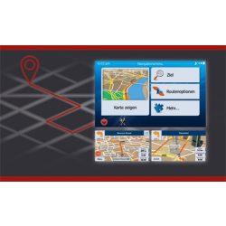 macAudio MAC 500NAV SET IGO Primo navigációs kártya MAC 520 autós multimédiához,TMC és GPS antenna csomag