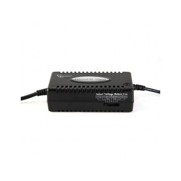 Gembird NPA-DC1 80W notebook autóstöltő