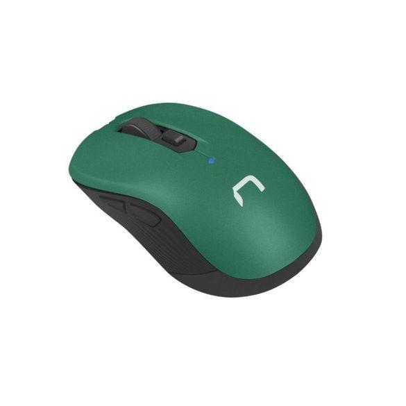 NATEC Vezeték nélküli egér Robin Zöld 1600 DPI