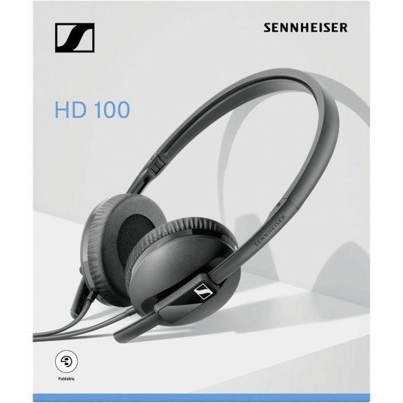 Sennheiser HD 100 Fejhallgató Fekete