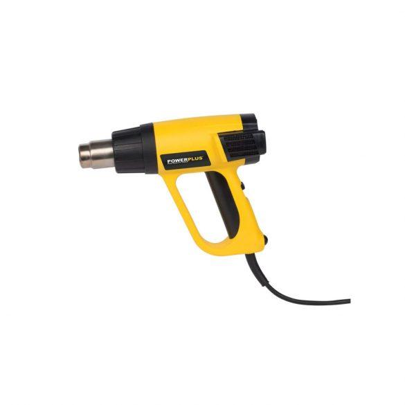 PowerPlus sárga  hőlégfúvó 2000W  POWX1025