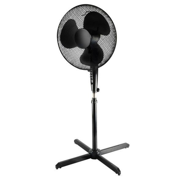 SF41/BK Állványos ventilátor, fekete , 40cm , 45W