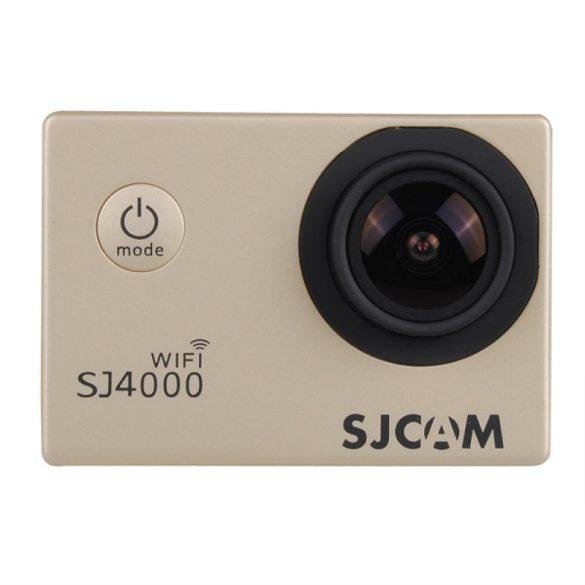 SJCAM SJ4000 előlap arany