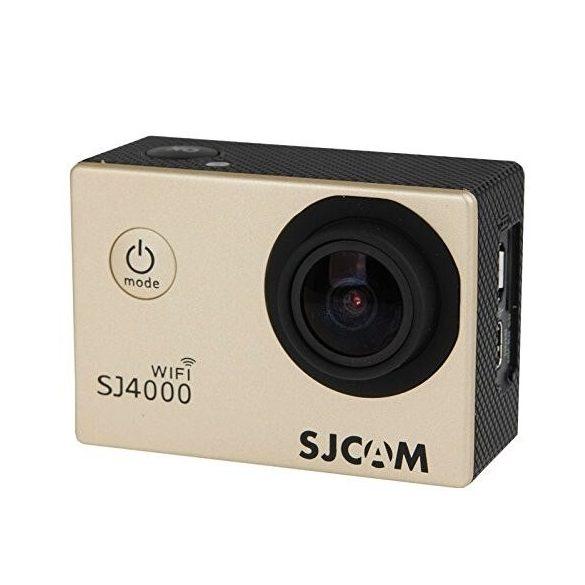 SJCAM SJ4000 WIFI előlap arany