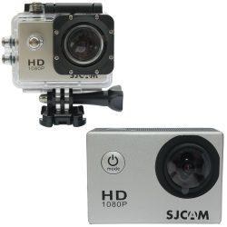 SJCAM SJ4000 sportkamera eredeti gyártói modell ezüst színű