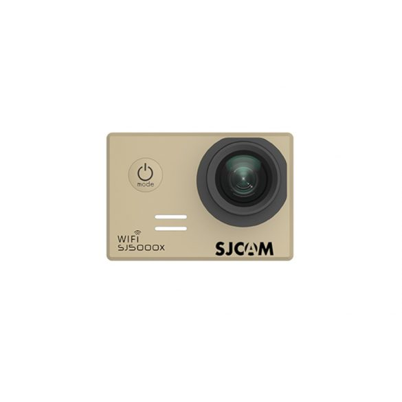 SJCAM SJ5000X előlap arany