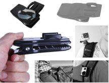 SJCAM / GoPro kiegészítő • GP-108B Közepes méretű rögzítőcsipesz aljzattal