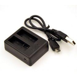 SJCAM SJ-TKD2 dupla töltőkeret (beállítható akkumulátor)