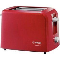 Bosch TAT3A014 - piros kenyérpirító