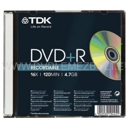 TDK 4,7 GB 16x DVD-R slim