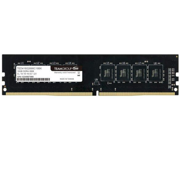 DDR4 16GB PC 2666 Team Elite TED416G2666C1901