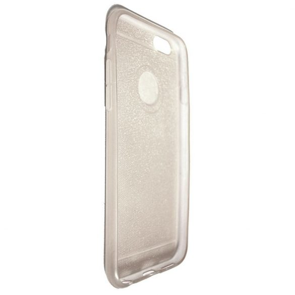 Szilikon védőtok Apple IPhone 6/6S készülékekhez - opál csillámos