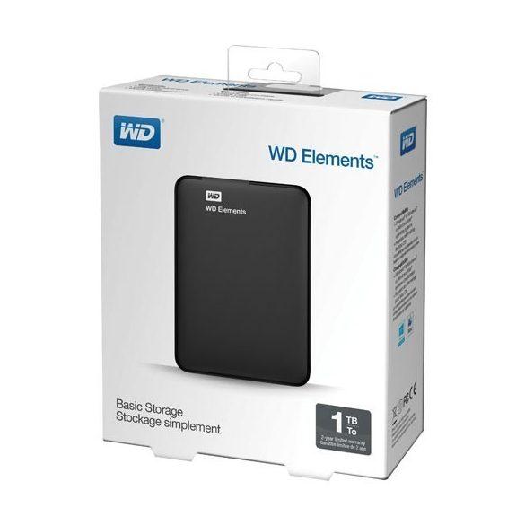 """Western Digital Elements 2.5"""" 1000GB USB 3.0 WDBUZG0010BBK-EESN"""