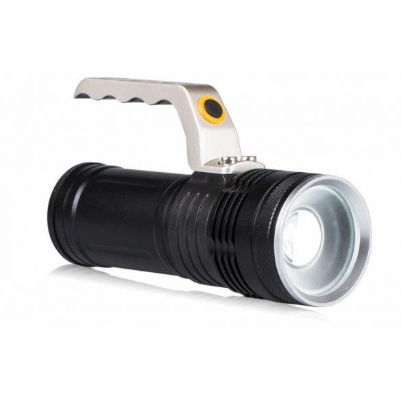 Latarka akkumulátoros LED elemlámpa XP-E LB0108
