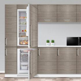 Beépíthető kombinált hűtőszekrények