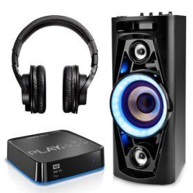 Lejátszók, hangfalak, fülhallgatók