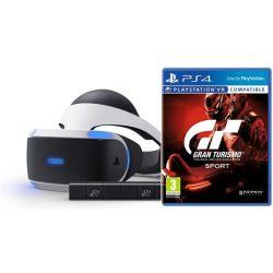 SONY PS4 VR + kamera + VR Worlds + GT Sport (PS719950066)