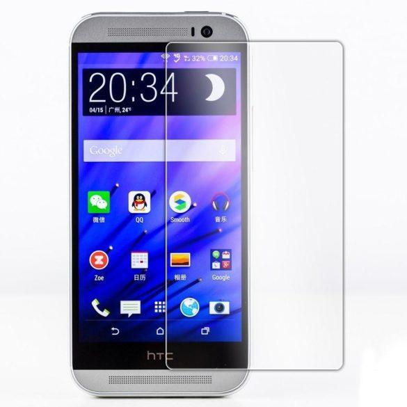 Premium kijelzővédő üvegfólia HTC M8 mobiltelefonhoz