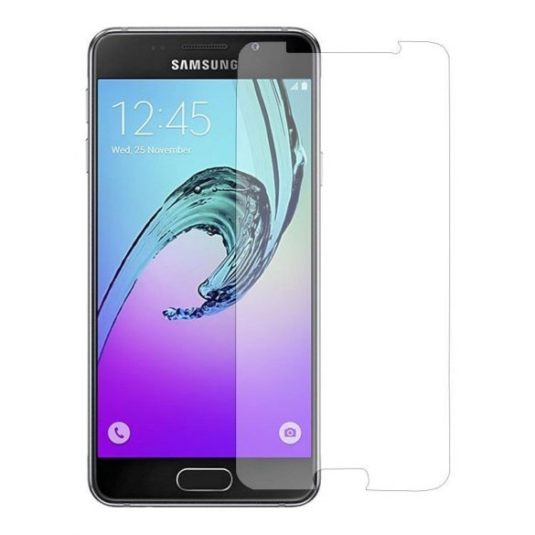 Premium kijelzővédő üvegfólia Samsung Galaxy A3 mobiltelefonhoz