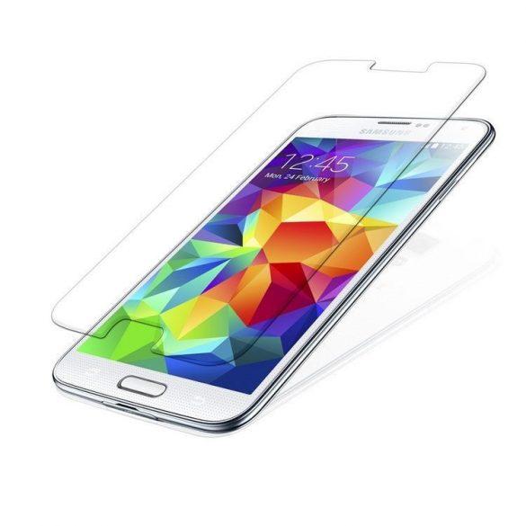 Premium kijelzővédő üvegfólia Samsung Galaxy S5 mini mobiltelefonhoz
