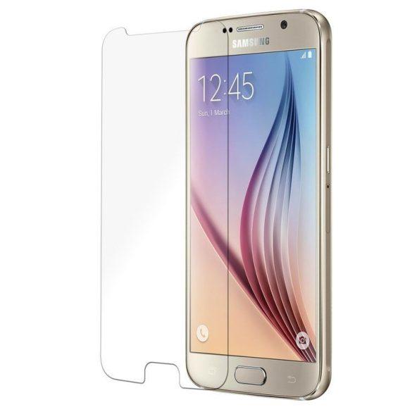 Premium kijelzővédő üvegfólia Samsung Galaxy S6 mobiltelefonhoz