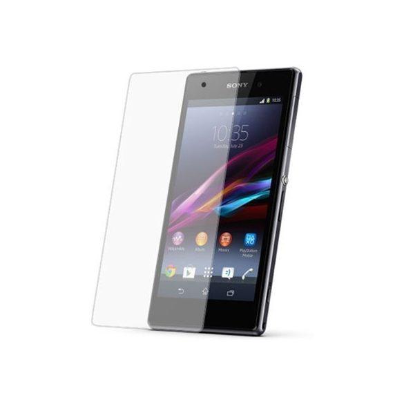 Premium kijelzővédő üvegfólia Sony Z1 mini mobiltelefonhoz